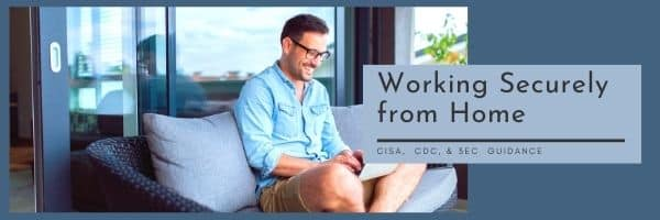 working securely from home