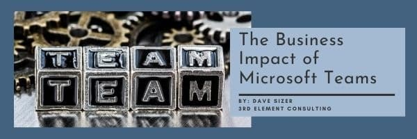 The Business Impact of Microsoft Teams