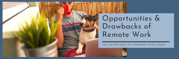 opportunities and drawbacks of remote work